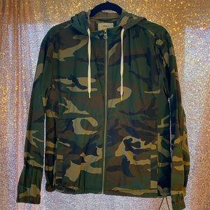 Camo Jacket with Hood